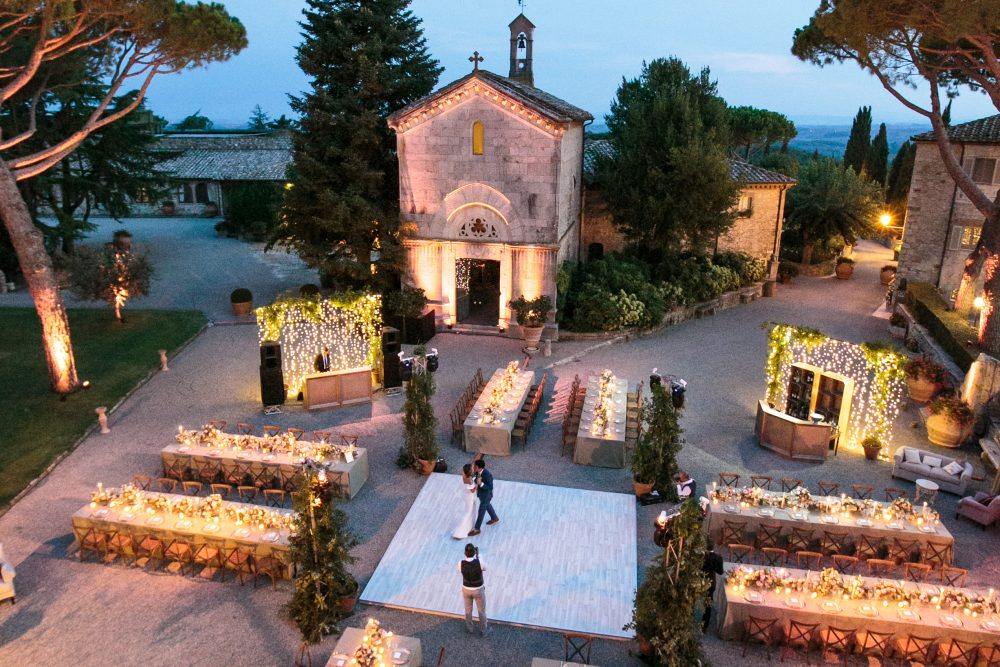 Exclusive Wedding venue in Tuscany