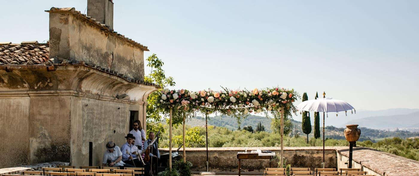 Jewish wedding in Florence video