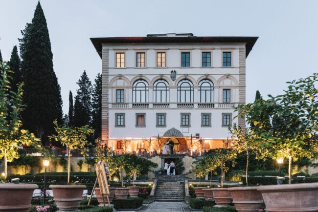 Luxury hotel for weddings in Florence