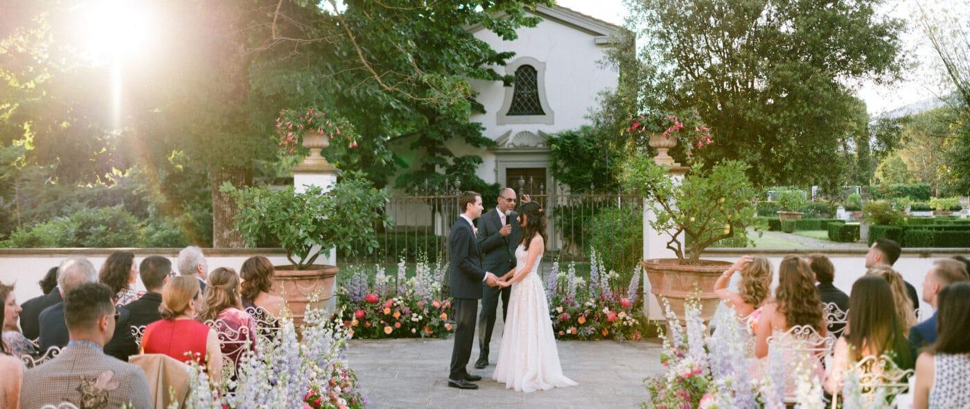 Romantic wedding in Tuscan Borgo video