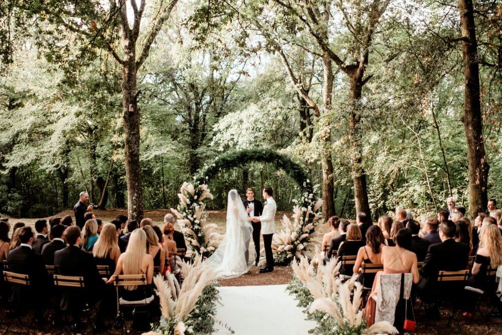 Romantico borgo per matrimoni in Toscana