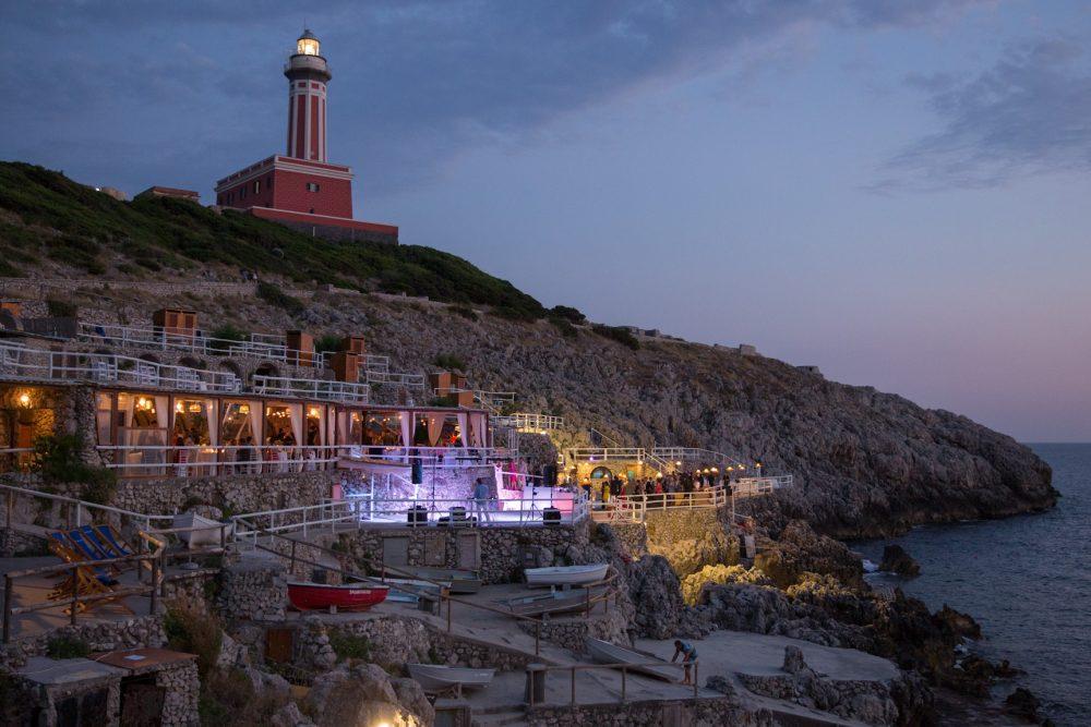 Sea View Wedding Venue in Capri