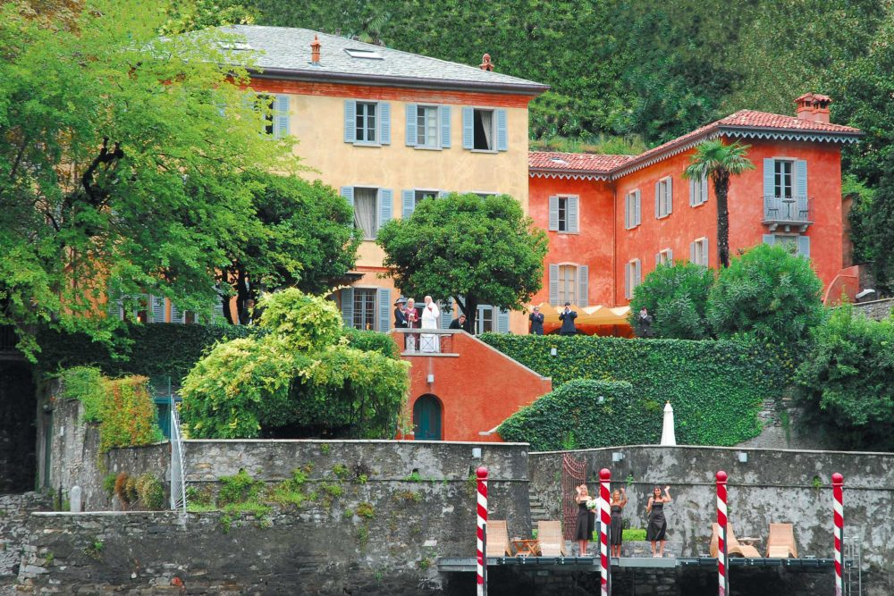 Villa for Weddings on the Lake Como