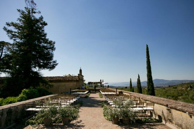 Wedding in a Florence villa