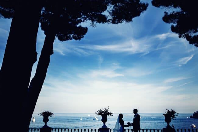 Wedding venue in Portofino with sea-view