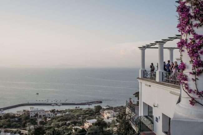 Villa in Capri with sea-view