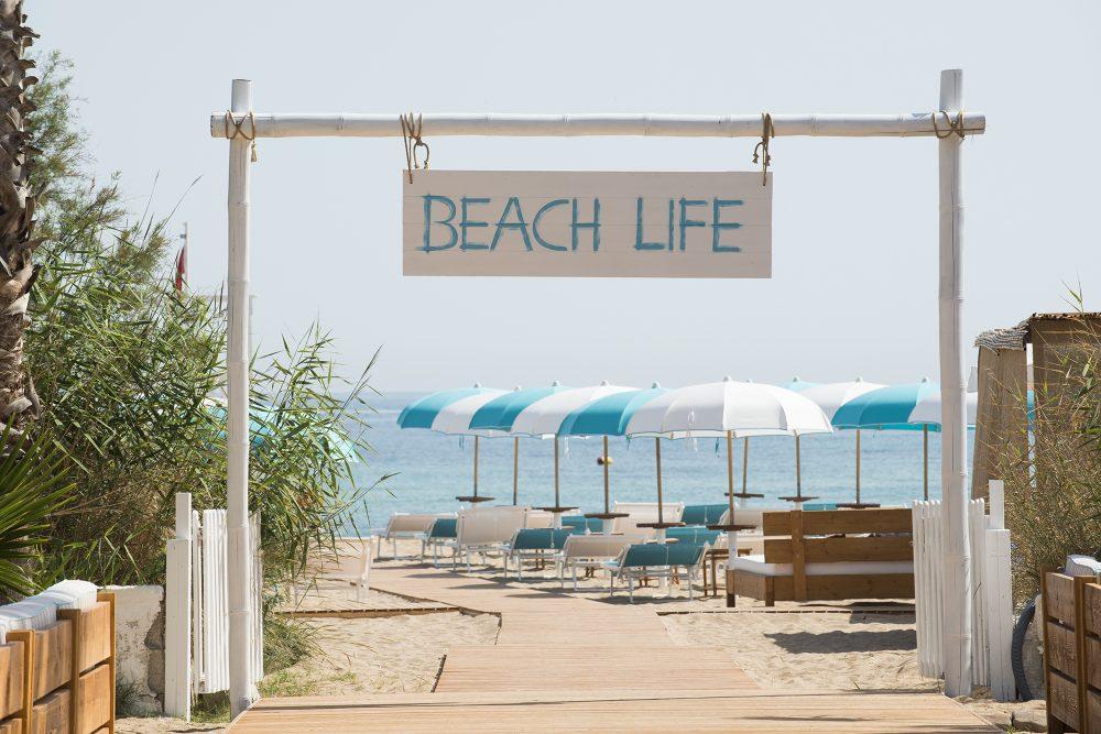 Beach club per matrimoni in Puglia