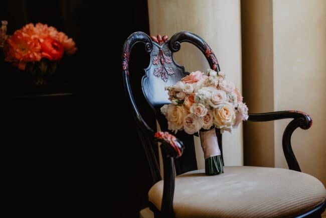 Elegant bridal bouquet