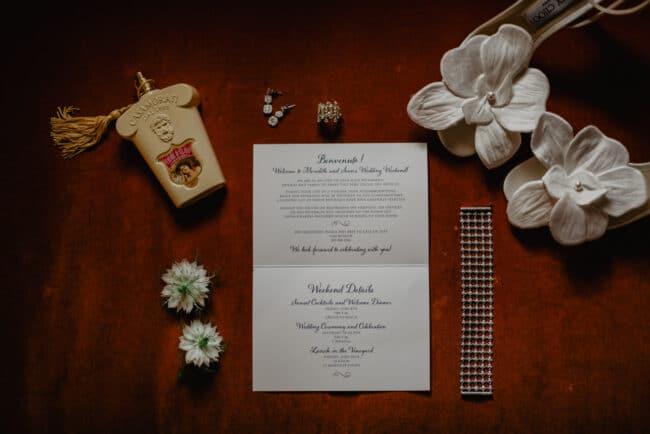 Bridal jewellery for an elegant wedding in Tuscany
