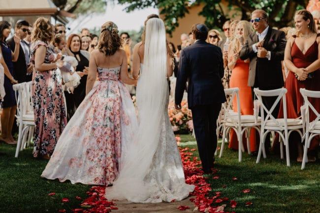 Bridal entrance as per Jewish traditions