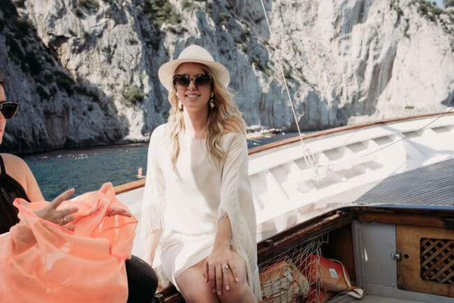 Photo service in Capri