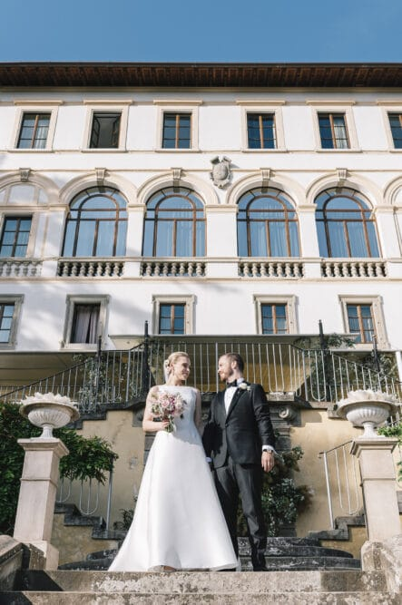 Wedding portrait hotel Florence