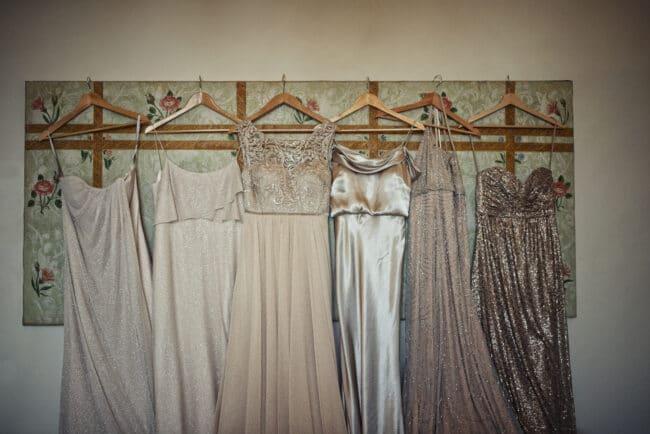 Bridesmaids dress for a wedding in Portofino