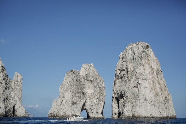 Faraglioni view in Capri