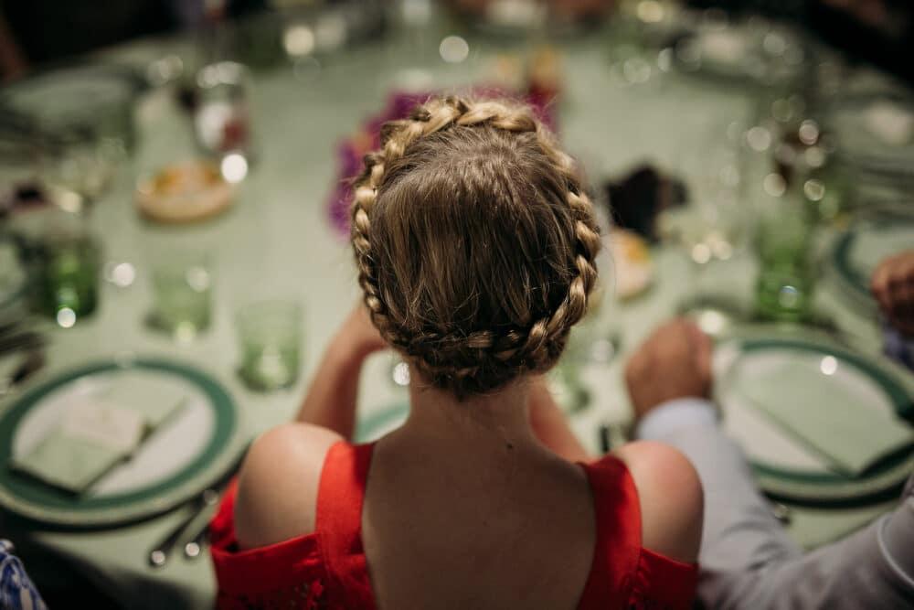 Carpi style hair for a three days wedding in Capri
