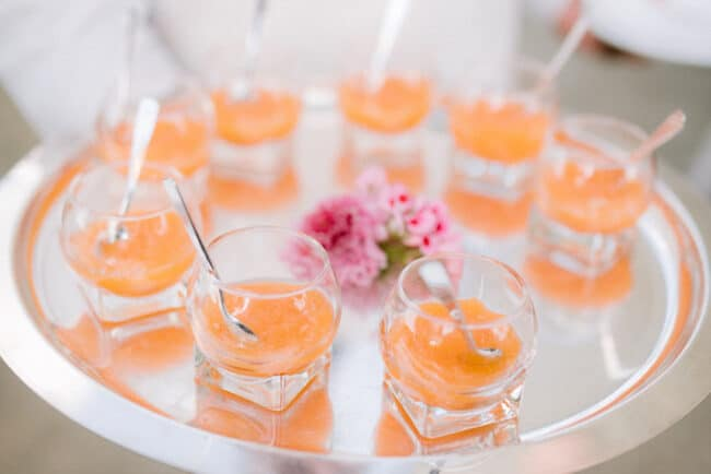 Luxury wedding catering service in Italy