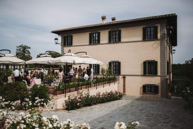 cocktail reception weddings villa tuscany
