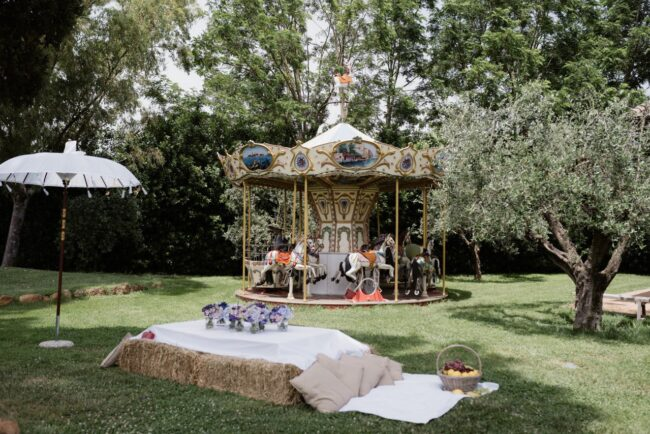 Country chic party in Italy