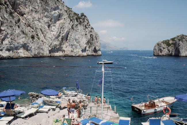Goodbye brunch da Luigi ai faraglioni in Capri