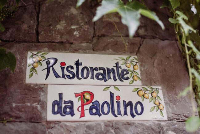Da Paolino in Capri iconic restaurant