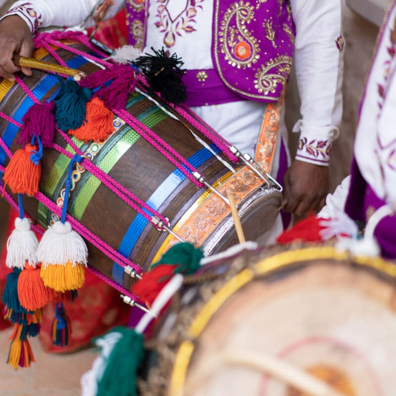 Dohl players for indian weddings in Italy