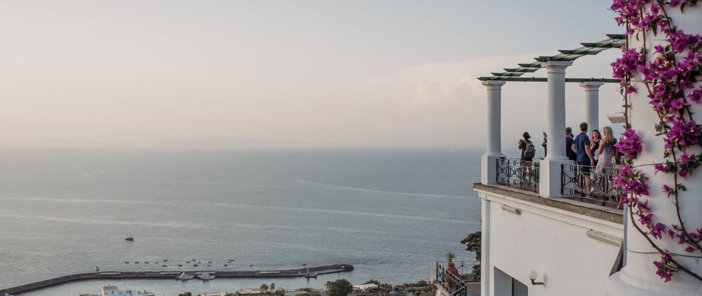 Video of a Wedding in Capri