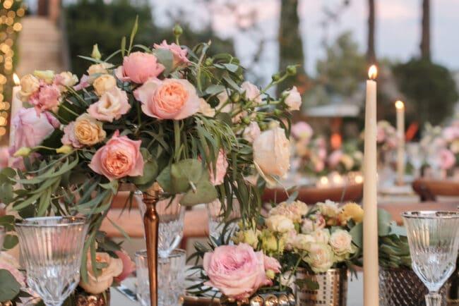 Elegant flower decorations