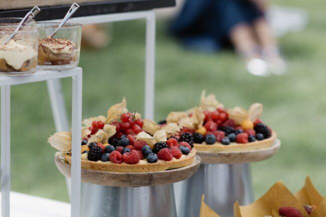 Wedding brunch dessert buffet