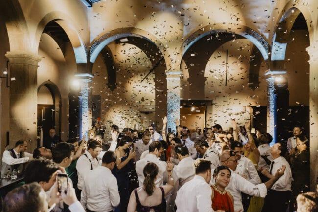 Exclusive wedding party venue in Italy