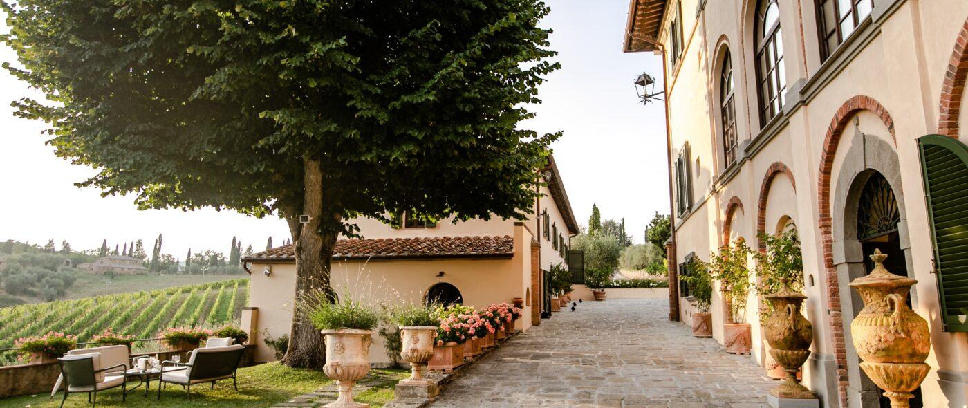 garden villa weddings tuscany
