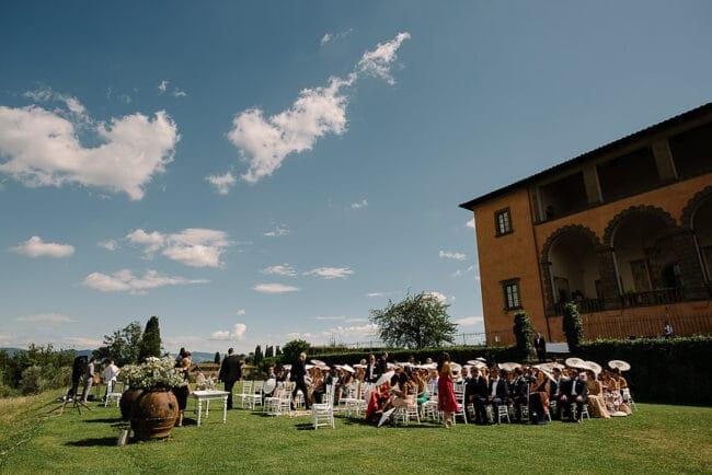 garden wedding italy villa
