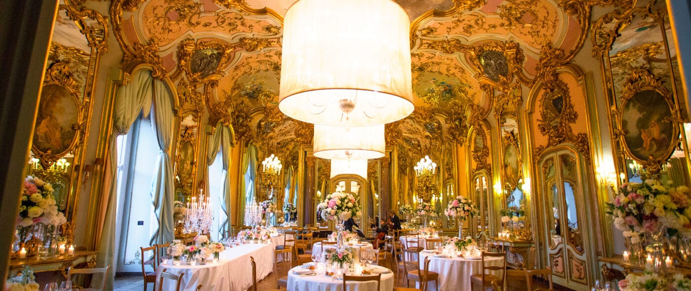 Video of a glamorous and chic wedding in Florence