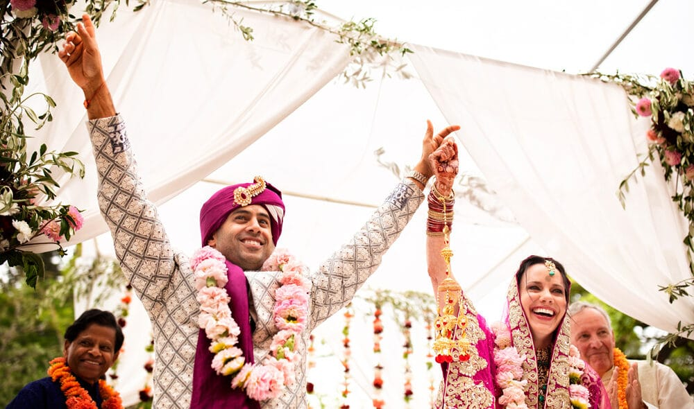 Indian wedding in Italy video