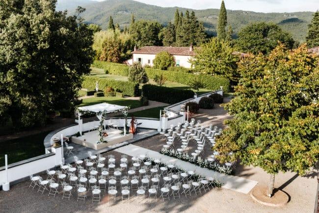 Indian wedding venue outdoor ceremony