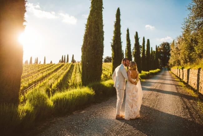 intimate wedding tuscany villa