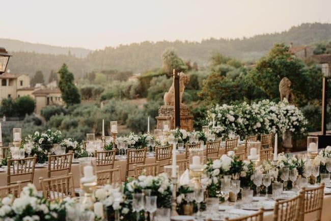 Wedding gold table set of Iranian ceremony