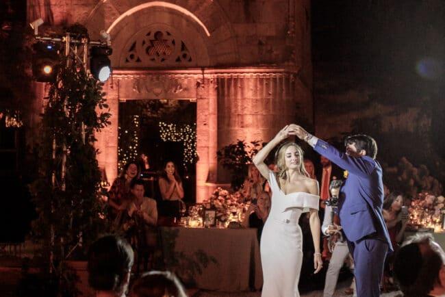 Jewish dance party in villa