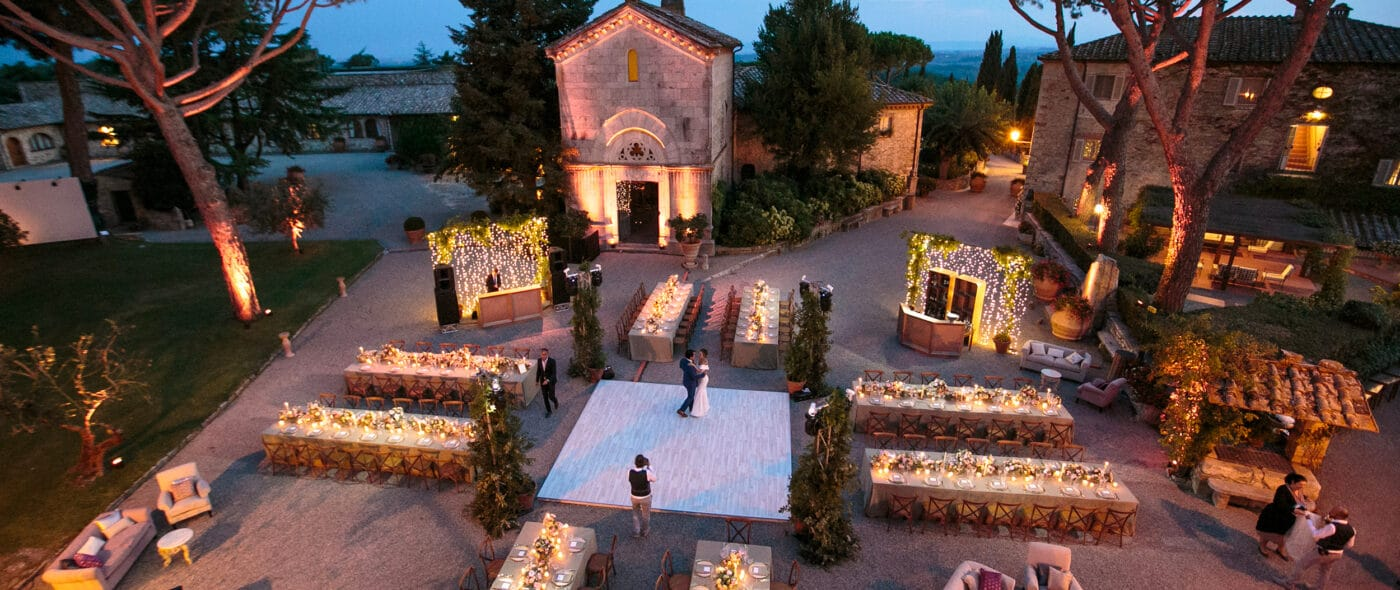 Video of a Jewish wedding in Tuscany