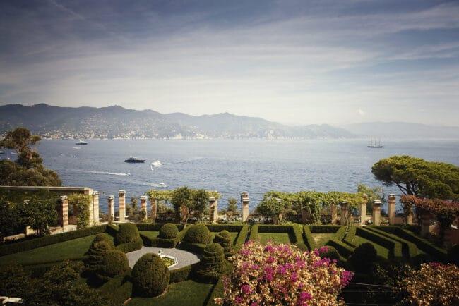 Luxury wedding villa in Portofino