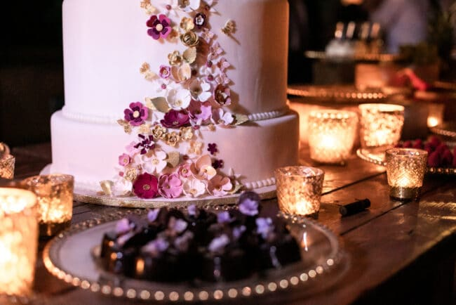 Lebanese wedding cake