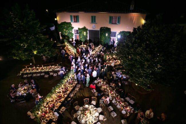 Lebanese wedding evening party