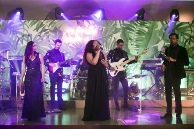 Exclusive live band for weddings in Rome
