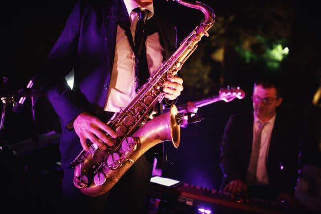 Live wedding band in Portofino