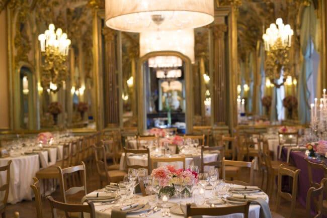 luxury dinner ballroom villa tuscany