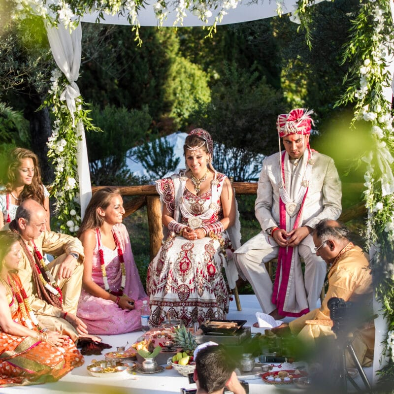 Luxury Indian wedding in Italy