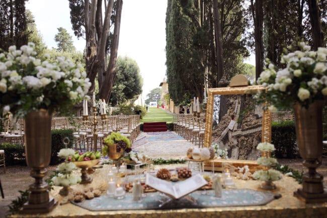Luxury persian ceremony wedding vows