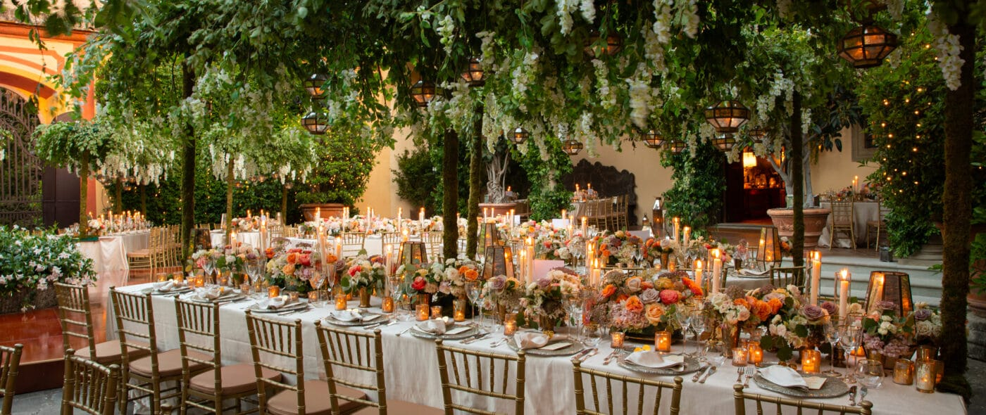Luxury wedding in Italy: video of a secret garden