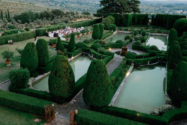 most beautiful garden florence villa with view