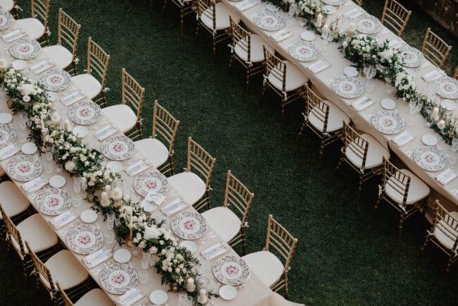 Persian Indian luxury wedding table