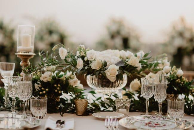 Persian wedding flowers